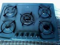 White Westinghouse 5 ring gas hob