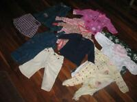 Excellent Condition - Girls 6 Month Clothes