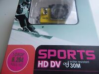 WATER PROOF , FULL HD , GO ANYWHERE , NEW IN BOX , ACTION CAMERA