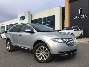 2013 Lincoln MKX Base * Cuir, Toit Ouvrant, Navigation *