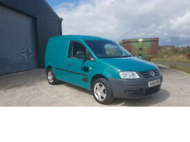 VW Caddy SDI –Long MOT, Previous Council Owned, Great Van