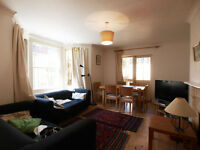 Very Large 3 double bedroom flat split over 3 level with private garden in the heart of stroud green