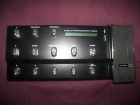 Line 6 POD FBV Shortboard MKII USB Guitar Footswitch.