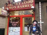 Shop to let/ for sale Freehold Pitlochry scotland Established Barber shop