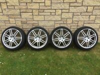 """19"""" Audi RS4 / Le Mans Alloys and Tyres"""