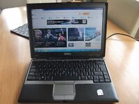 DELL D420 12 INCH DUAL CORE NOTEBOOK RUNNING WINDOWS 7 IN PERFECT WORKING ORDER