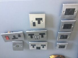 Various electrical sockets as shown