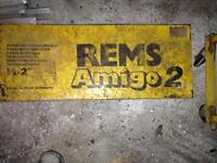 REMS pipe threading tool +other parts