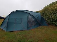 Aztec 6 berth dome tent with accessories