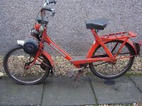 Collectable 1970's Velosolex Moped for Renovation - Rare and Retro Complete with V5C