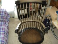 rocking chair suitable for upcycling