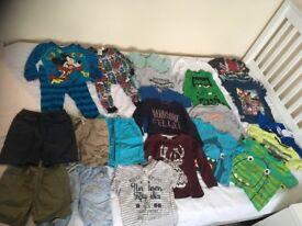 43 items Used boys clothes bundle 2-3yrs