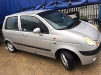 Daewoo Matiz 54 plate 2005 1.0 engine SE Plus 5 doors