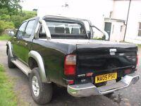 TOYOTA HI LUX Pickup 4 cab 2.8 ltr Diesel manual MOT Jan 17