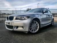 BMW 120D M SPORT (2009) ***5 DOORS - ONLY 40K MILES - LEATHERS - BARGAIN*** F.S.H