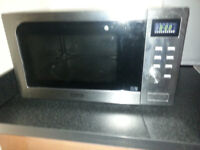 Microwave & Convection Oven, VGC , Stainless Steel, Touch Control, Bargain £30