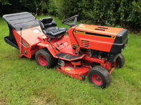 Westwood Ride t1300 ride on tractor mower with collector