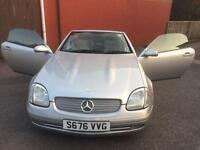 MERCEDES 230 SLK CONVERTIBLE , MUST SELL THIS WEEK , INSURANCE RUNS OUT .