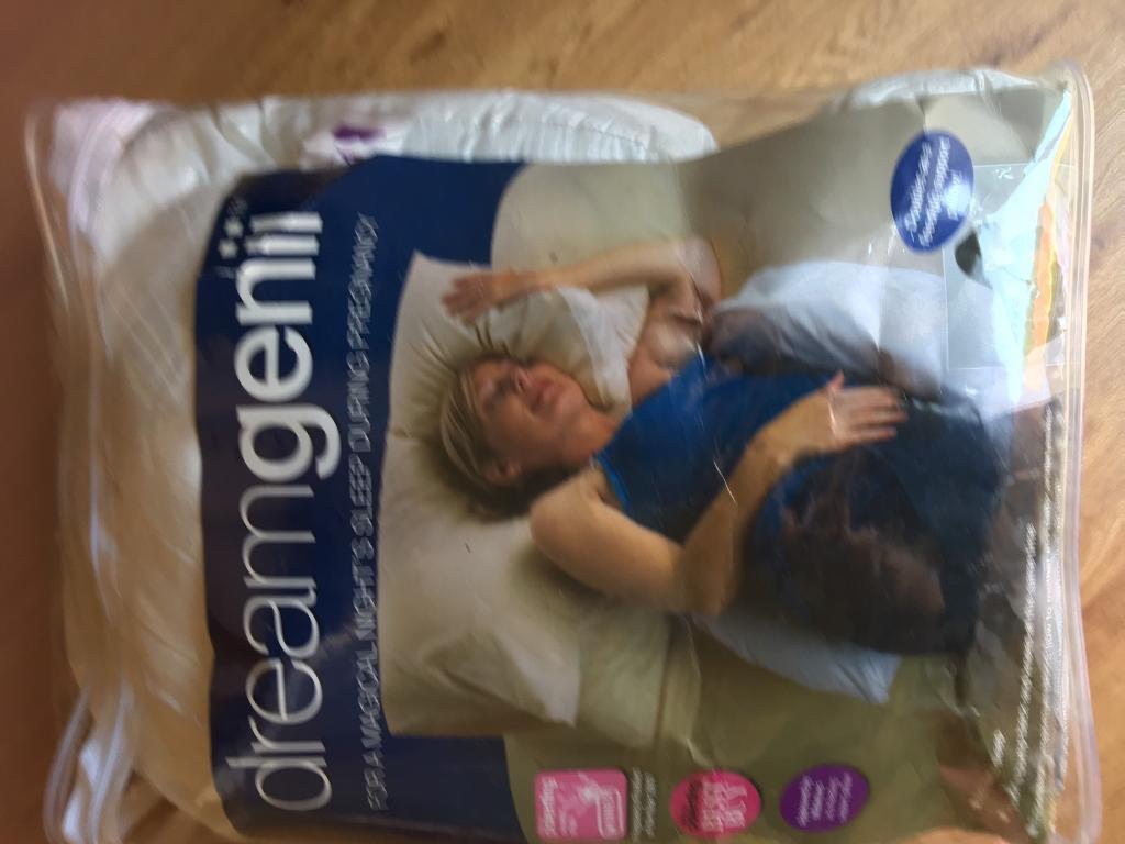 Dream genii pregnancy sleep pillow cushion