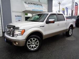 2011 Ford F-150 King Ranch Crew 4x4, Leather, Sunroof, 1 Owner