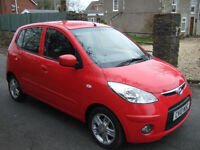 Hyundai I10 Edition 5 door. 10 reg. 1 local lady owner.12 months mot.66000 miles with full history.
