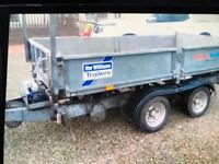2011 ifor Williams TT105G tipping trailer