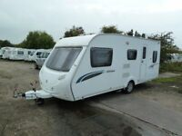 Sterling Europa 530 4/5 birth caravan for sale. 2009 single-axle model, in excellent condition.