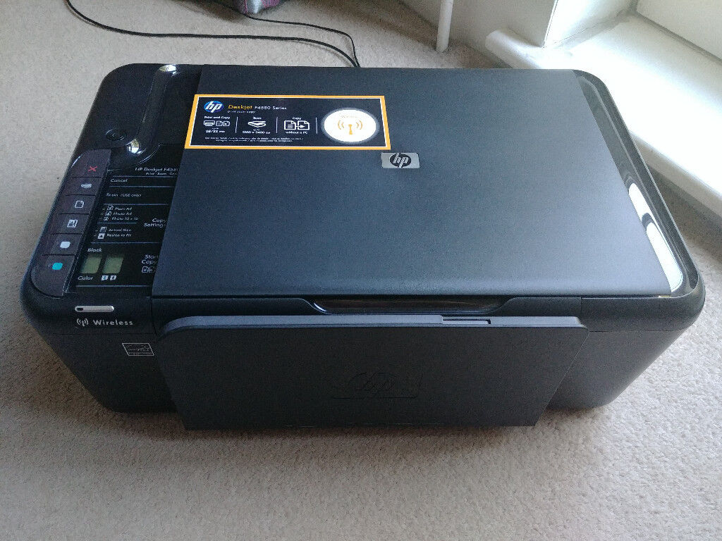 HP Deskjet F4580 Printer - For spares/repair