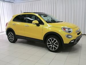 2017 Fiat 500X AWD 5DR HATCH.  LOW KILOMETERS !!  w/ SUNROOF, AL