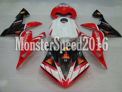Injection Body Kit Fairing Fit for YAMAHA 2004 2005 2006 YZF R1 Mold ABS qAH