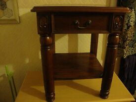 mahogany antique style hall or any where else table