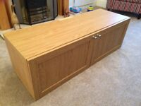 TV cupboard, Oak effect