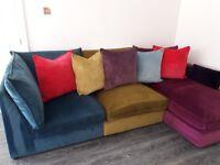Beautiful 4 seater corner sofa