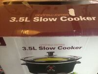 3.5l Andrew James Slow Cooker - New
