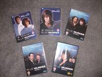 BLUE MURDER SERIES 1 - 5 DVDS