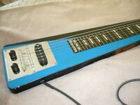 **VINTAGE VERY RARE PRINCETON HAWAIIAN LAP STEEL SLIDE GUITAR**