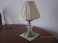 Table lamp by Maison, white shade, in good condition, £ 20