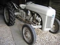 1941 FORD FERGUSON 9N TRACTOR AND TWO FORD PLOUGHS FOR SALE