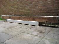 Reclaimed timber beams - Teak