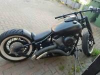 XVS 650 hardtail bobber