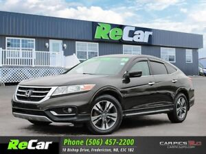 2014 Honda Crosstour EX-L 4X4 | REDUCED | HEATED LEATHER | NA...