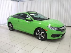 2016 Honda Civic IT'S A MUST SEE!!! GREEN LIGHT CERTIFIED!! 2DR