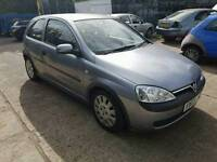 Vauxhall corsa 1l petrol breaking for parts