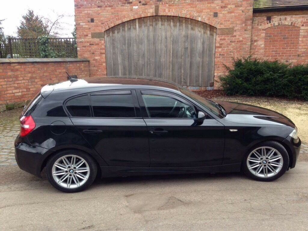 bmw 120d m sport black in worcester worcestershire gumtree. Black Bedroom Furniture Sets. Home Design Ideas