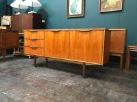 Compact Dunvegan Teak Sideboard by McIntosh of Kirkcaldy. Retro Vintage Mid Century. Danish Style
