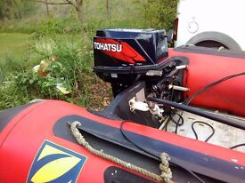 Tohatsu 30 hp electric start outboard engine