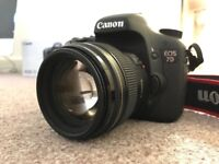 Excellent condition!! Canon EOS 7D SLR camera + EF 85mm f /1.8 USM lens