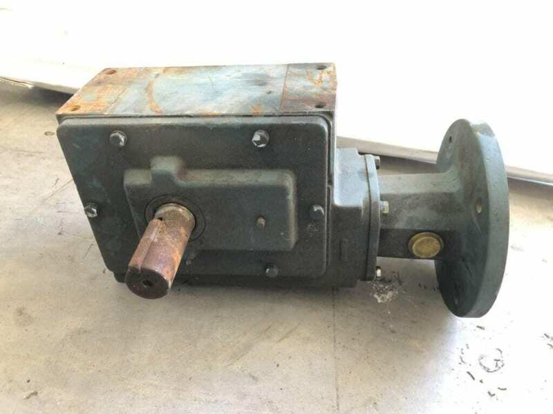 Dodge AG812015WHD 18:1 Right Angle Gear Drive/Speed Reducer 5.4HP 2697in-lb