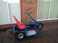 Mammoet pedal Go kart