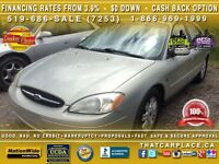 2003 Ford Taurus SEL- Leather Sun Roof